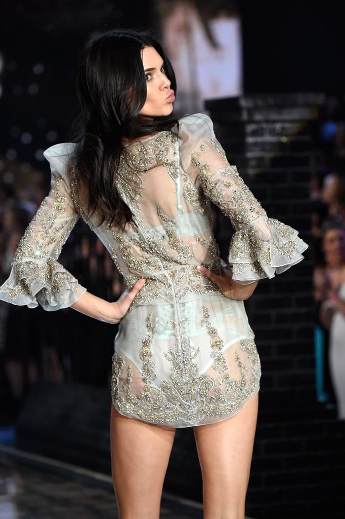 Kendall Jenner Victoria's Secret Fashion Show 2015 ...
