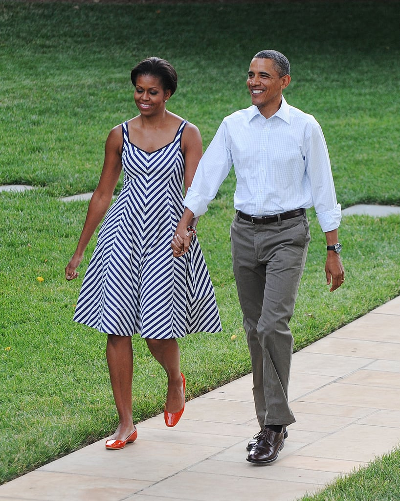 When She Was Picnic-Ready in a Sundress and Bright Flats