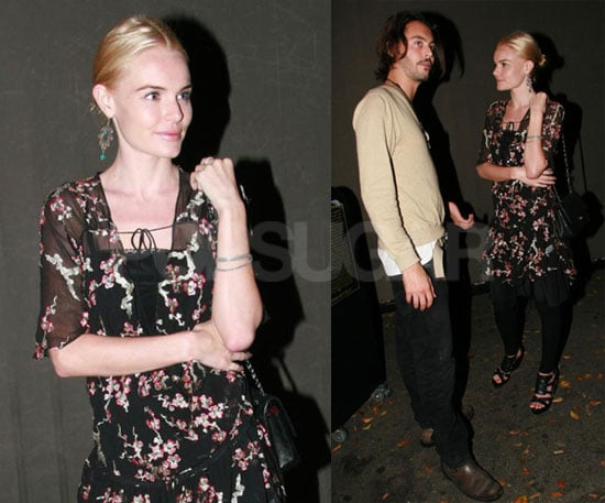 Photos of Kate Bosworth at the Chateau Marmont in LA