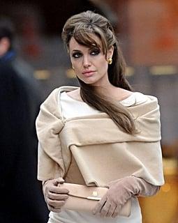 Angelina Jolie on set: The Tourist