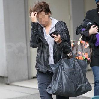 Guess Who Carried an Enormous Balenciaga Bag?