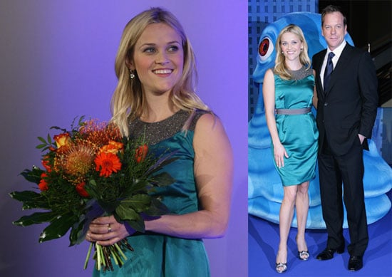 Photos of Reese Witherspoon and Kiefer Sutherland at the German Premiere of Monster vs Aliens