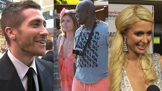 Video of Jake Gyllenhaal at the Prince of Persia Premiere, Heidi Klum and Seal Renew Wedding Vows, and Paris Hilton Pets