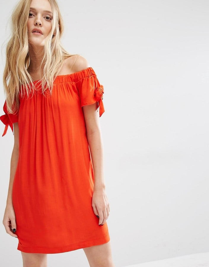 MANGO Off Shoulder Dress ($60)