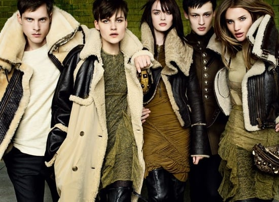 Photos of 2010 Fall Burberry Ad Campaign