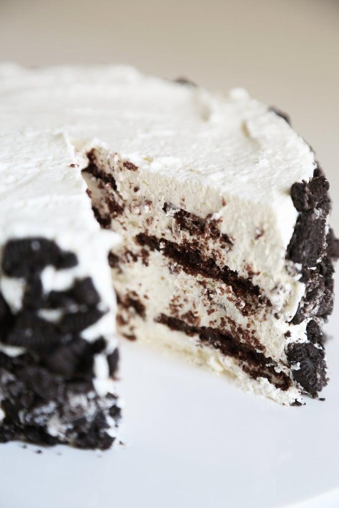 Oreo Icebox No-Bake Cake