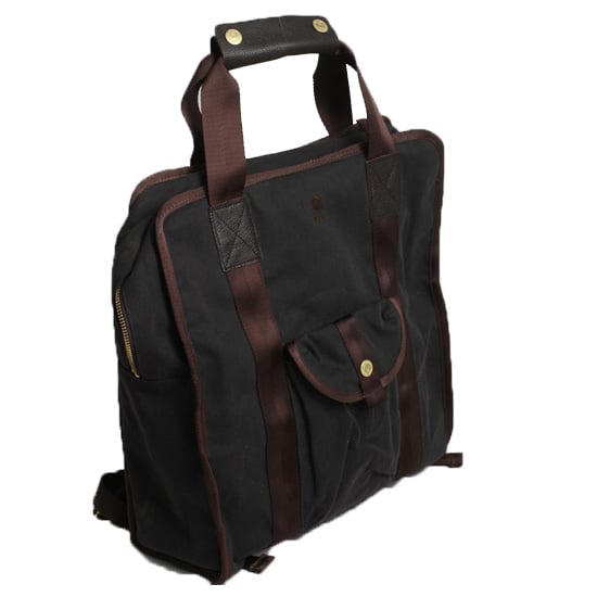 Brooklyn Industries Waxed Canvas Backpack/Tote