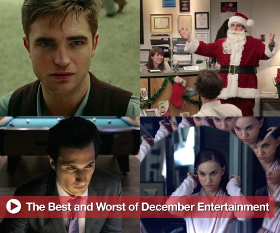 Best and Worst of December Entertainment, Including The Office, Black Swan, and Water For Elephants
