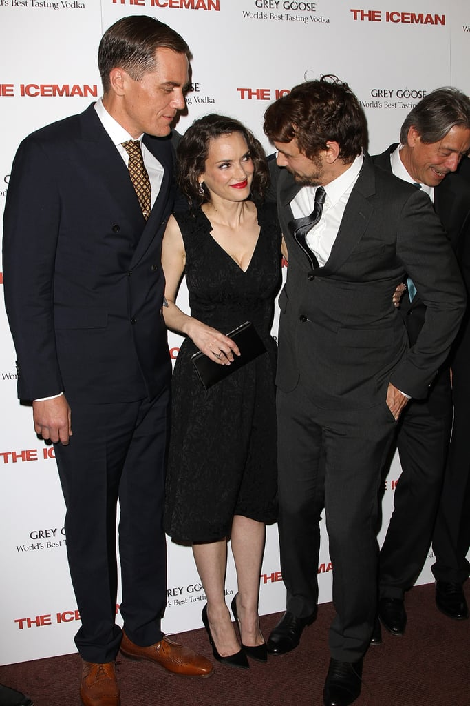 Winona Ryder, Michael Shannon and James Franco linked up for a screening of The Iceman in NYC.