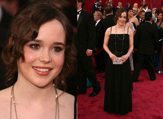 Oscars Red Carpet: Ellen Page