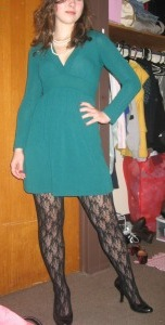 Look of the Day: Legs of Lace