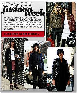 New York Fashion Week Street Chic