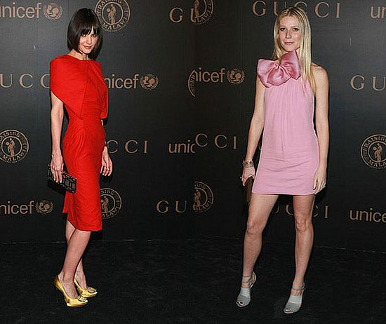Battle of the Gucci: Holmes vs. Paltrow