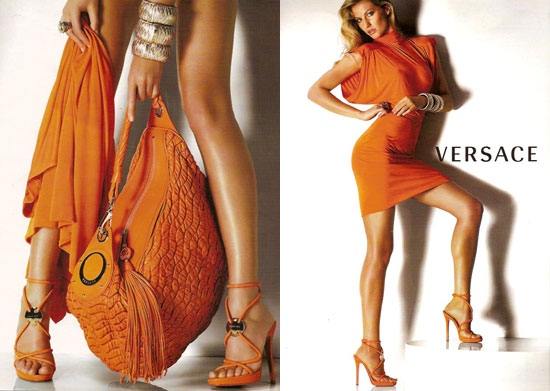 Fab Ad: Gisele Bundchen For Versace