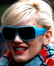 The Look: Blue Shades
