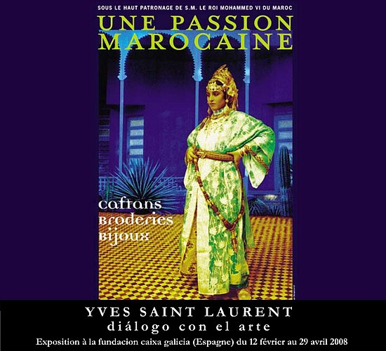 Fab Site: Yves Saint Laurent Tribute to the Moroccan Dress