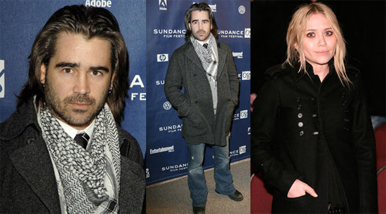 Mary-Kate and Colin Kick Off Hot and Freezing Sundance Fun