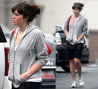 Mandy Moore Goes Out For Breakfast in LA