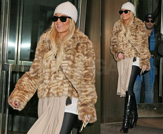 Lindsay's Still Feeling Furry