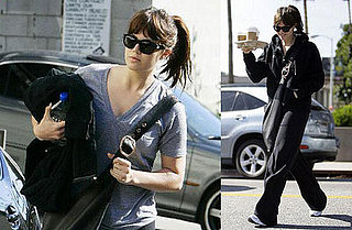 Mandy Moore Goes To the Gym in LA on January 31, 2008