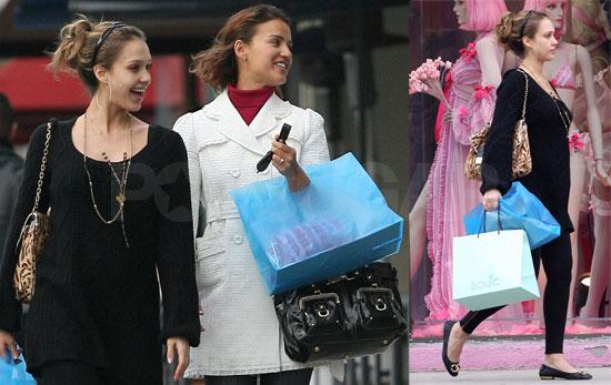 Alba's V Day May Involve Some Trashy Lingerie