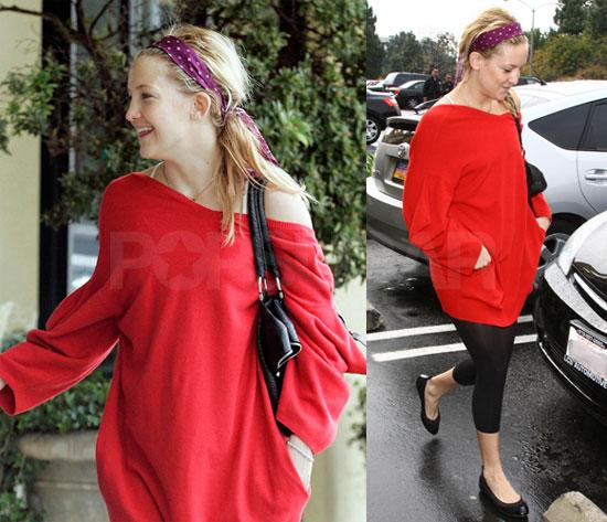 Kate Hudson Looks Ready to Flashdance