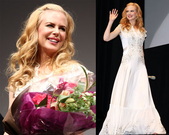 Nicole Kidman at the Japan Premiere of The Golden Compass