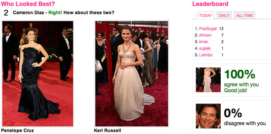Red Carpet Celebrities at the Oscars