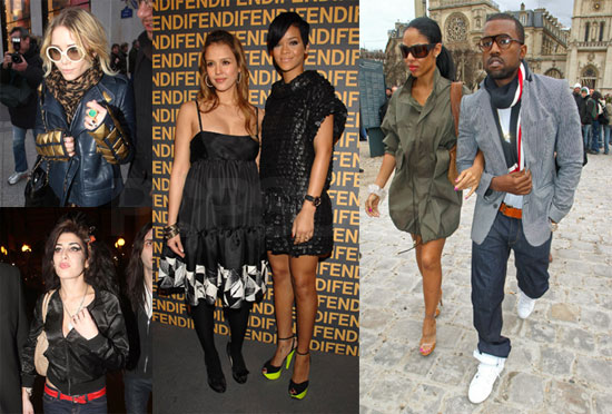 MK, Rihanna and Jessica Enjoy Kanye's FIRST Passion in Paris
