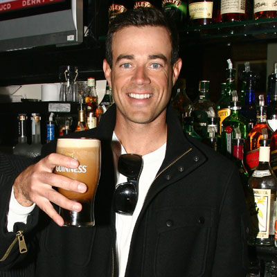 Carson Daly Toasts to St. Patrick's Day