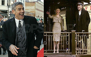 George Clooney and Renee Zellweger at Leatherheads premiere