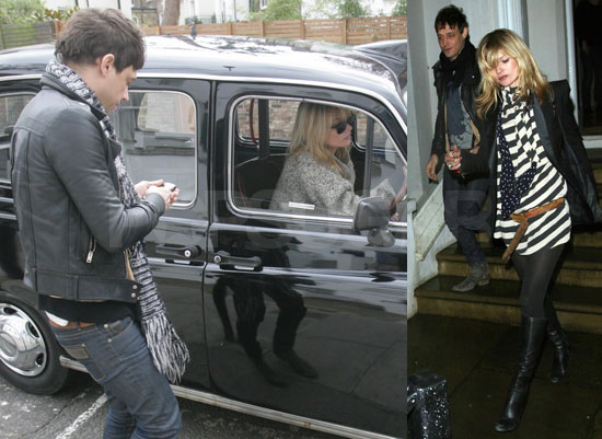 Kate Moss and Jamie Hince Take a Drive in Her New Cab