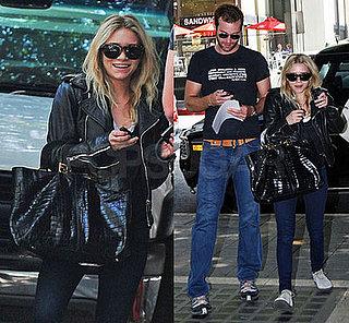 Ashley Olsen Enjoys Her Weekend