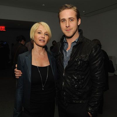 Ellen Barkin and Ryan Gosling at the Visitor Premiere