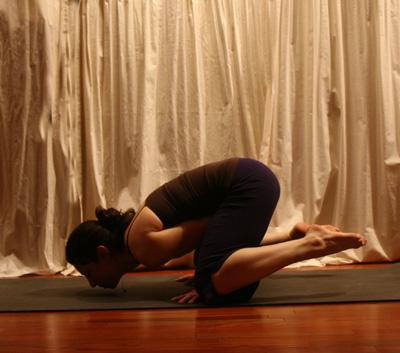Prep for 1-Legged Arm Balancing Yoga Pose