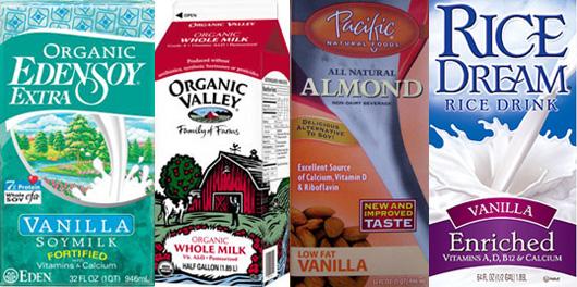 Nutritional Breakdown of Milk Products