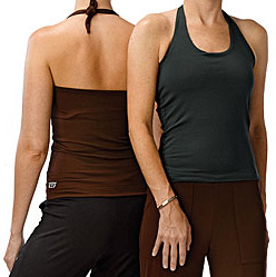 Get Your Butt in Gear: Be Present Bamboo Halter Top