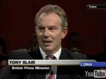 Tony Blair Covers the Clash