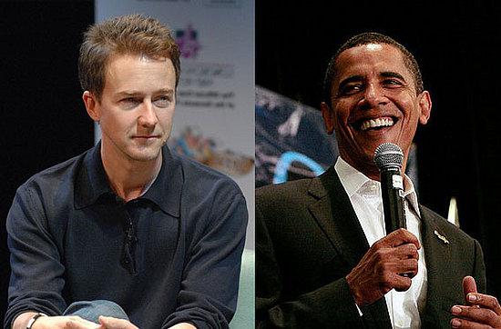 Edward Norton Developing Barack Obama Documentary
