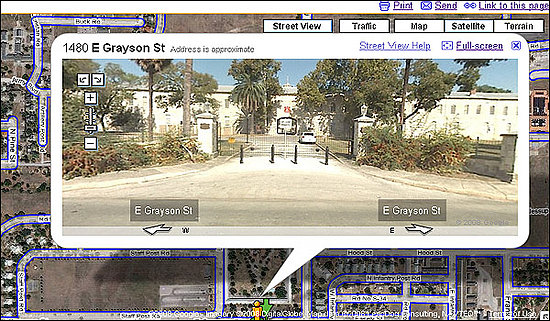 US Defense Department Bans Google Street View From Military Sites