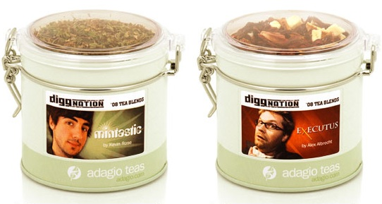 Digg it? Diggnation Hosts Make Custom Teas