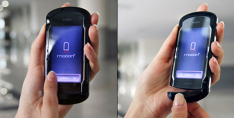Mooon Phone Includes Bluetooth Headset