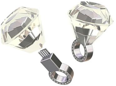 USB Diamond Ring