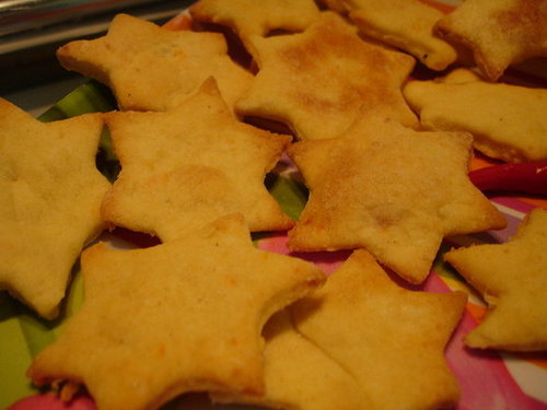 Cheesy n' Tasty Savory Crackers