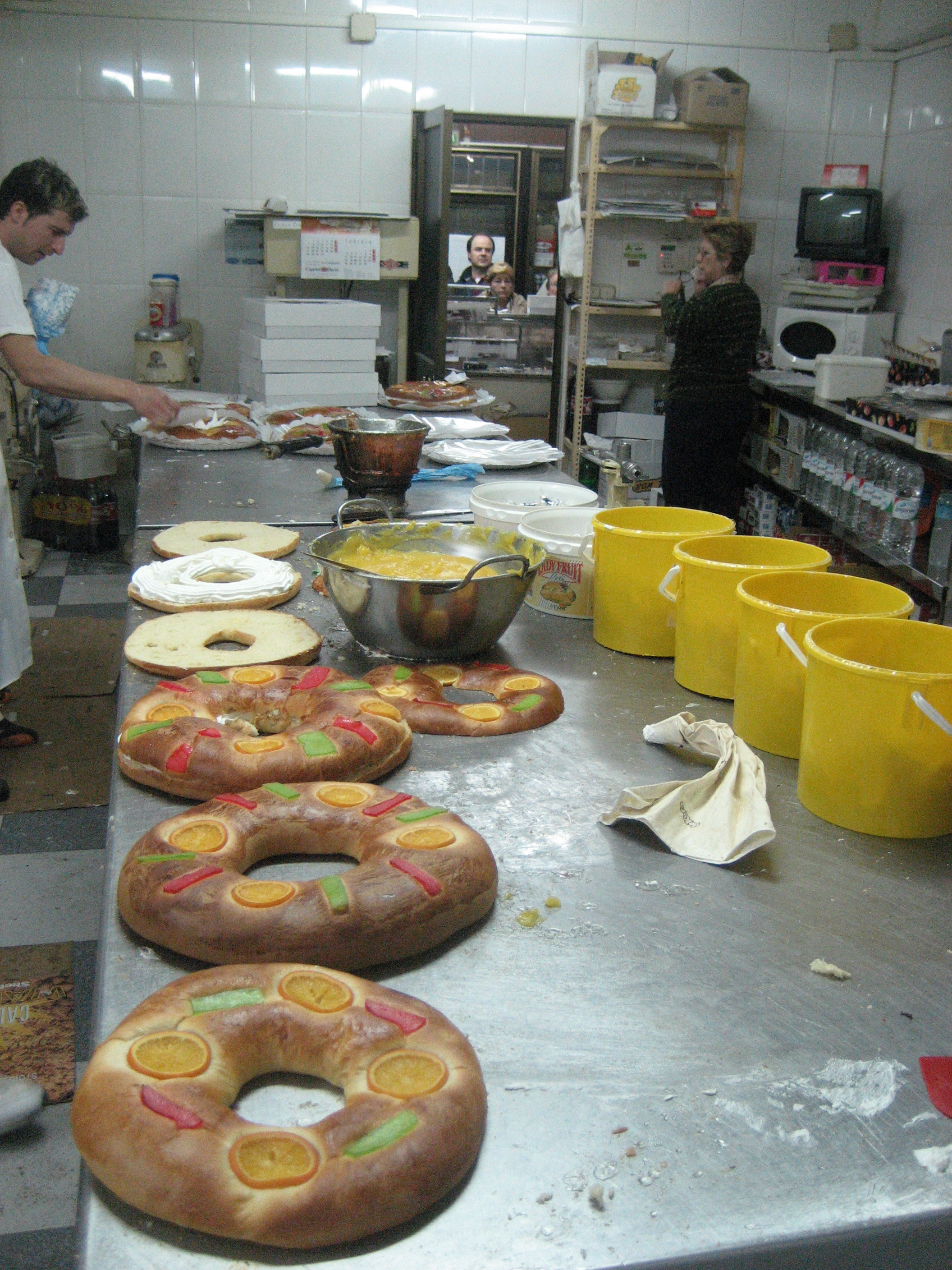My Night as a Spanish Pastry Chef