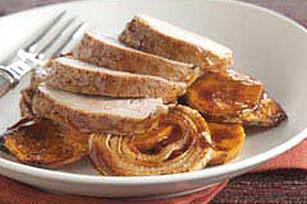 Fast & Easy Dinner: Maple Pork and Sweet Potatoes