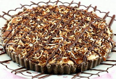 Yummy Link: Girl Scout Samoa Cheese Tart