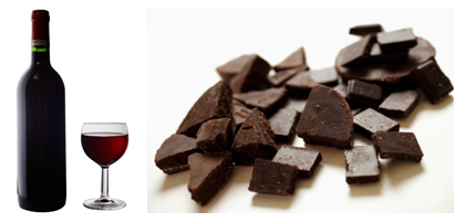 Come Party With Me: Wine and Chocolate Tasting — Drinks