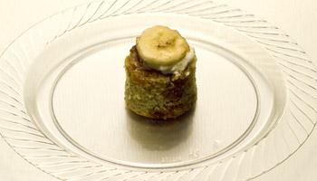 Sophisticated Bite-Sized Banana Bread