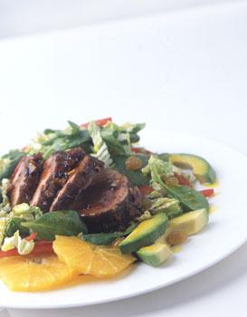 Monday's Leftovers: Island Pork Tenderloin Salad